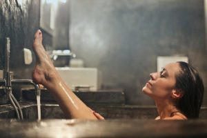 Steam from a bath or shower leading to problems that require condensation solutions